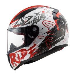 Спортивная защита - Шлем FF353 RAPID NAUGHTY WHITE RED, 0