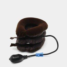 Массажные матрасы и подушки - Массажёр надувная подушка для шеи, 0