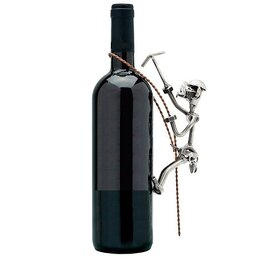 """Этикетки, бутылки и пробки - Украшение для бутылки """"Альпинист"""", 0"""