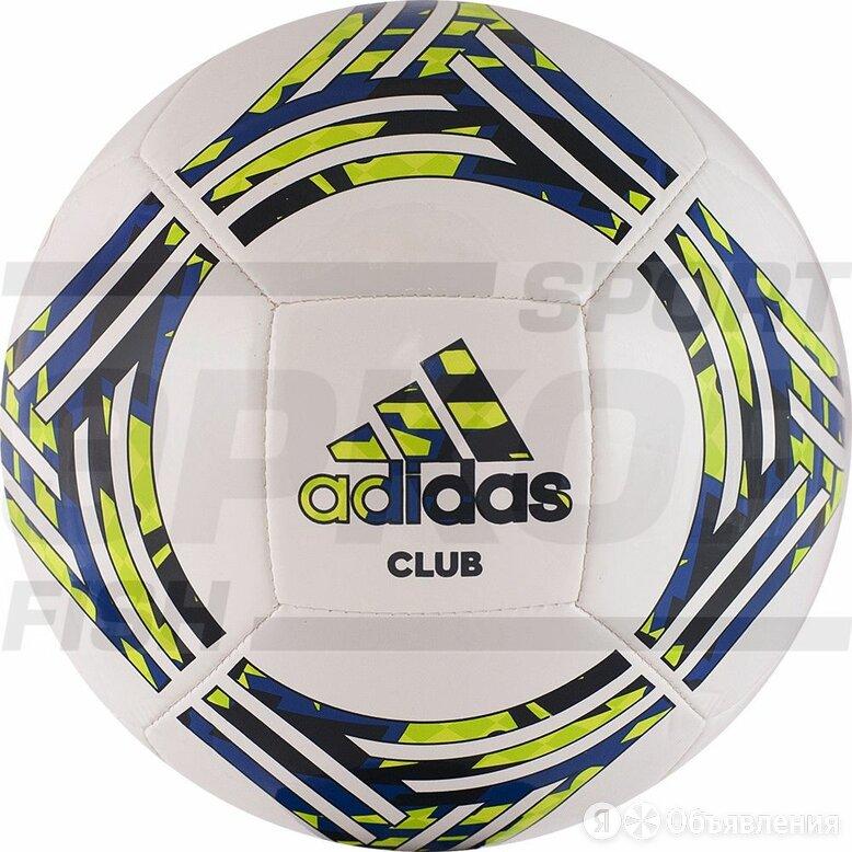 Мяч футбольный Adidas Tango Club №5 ТПУ машин сш 14 пан бел-син-зелён по цене 2090₽ - Настольные игры, фото 0
