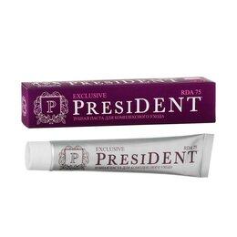 Зубная паста - Зубная паста President Exclusive, 75 RDA, 75 мл, 0