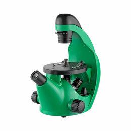 Детские микроскопы и телескопы - Микроскоп школьный Эврика 40х-320х инвертированный (лайм), 0