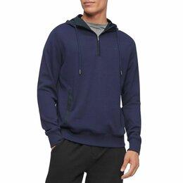 Свитеры и кардиганы - Худи пуловер Calvin Klein молния 1/4 M 48, 0