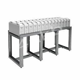 Источники бесперебойного питания, сетевые фильтры - Однорядный стеллаж для размещения аккумуляторов серии КРОН-АКС-3, 0