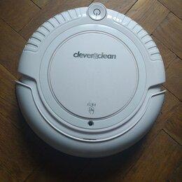 Роботы-пылесосы - Мини робот-пылесос clever clean m-series 004 белый, 0