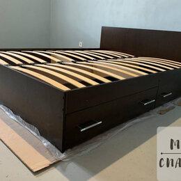 Кровати - Кровать 160х200 с ящиками новая , 0