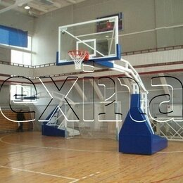 Стойки и кольца - Баскетбольные стойки, баскетбольные щиты, 0