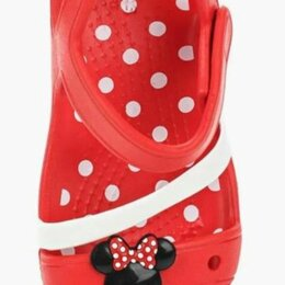 Босоножки, сандалии - Новые сандалии Crocs для девочки, J3, 0