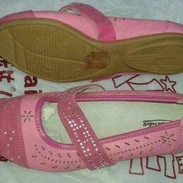 Балетки, туфли - Туфли для девочек новые, 0