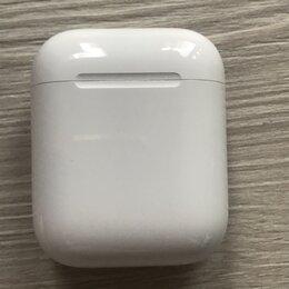 Наушники и Bluetooth-гарнитуры - Наушники AirPods, 0