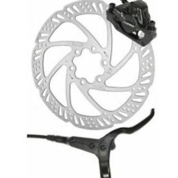 Тормоза - Тормоз велосипедный TEKTRO HD-М285, задний, гидравлический, дисковый, 1450mm, , 0