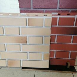 Фасадные панели - Сайдинг виниловый под кирпич, 0