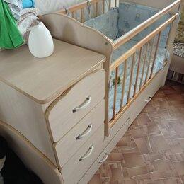 Кроватки - Кровать трансформер маятник , 0