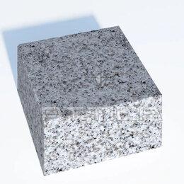 Тротуарная плитка, бордюр - Гранитная брусчатка 100х100х50, 0