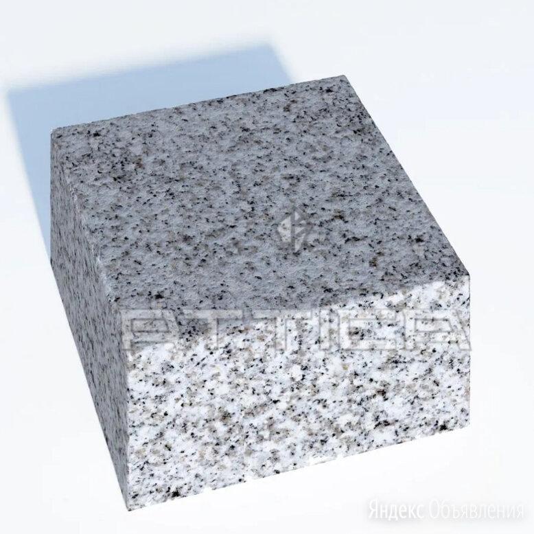 Гранитная брусчатка 100х100х50 по цене 2800₽ - Тротуарная плитка, бордюр, фото 0