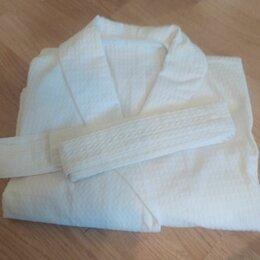 Домашняя одежда - Халат вафельный (белый) два по цене одного, 0