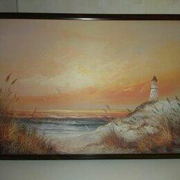 """Картины, постеры, гобелены, панно - Постер """"Береговой маяк"""", 0"""