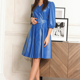 Платья - Платье 1320 LADIS LINE василек Модель: 1320, 0