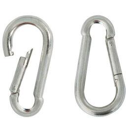 Аксессуары для амуниции и дрессировки  - TRIOL Карабин альпинист с    металл   6х60мм  пакет, 0