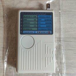 Прочее сетевое оборудование - Lan сетевой тестер 4 в 1 rj11 rj45 bnc usb, 0