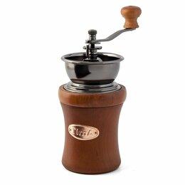 Кофемолки - Кофемолка деревянная ручная (круглая) SL-288 TimA, 0