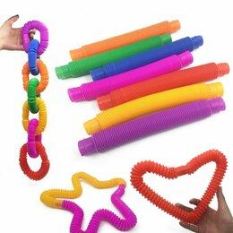 Игрушки-антистресс - Антистресс трубочка которая растягивается, 0