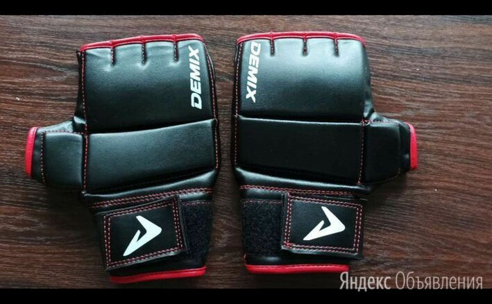 Новые мма перчатки demix по цене 600₽ - Перчатки для единоборств, фото 0