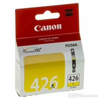 Картридж Canon Canon CLI-426Y 4559B001 по цене 1434₽ - Картриджи, фото 0
