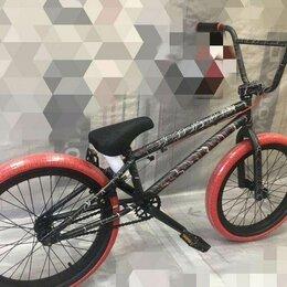 """Велосипеды - Велосипед bmx tech team grasshoper 20"""" черно-красный, 0"""