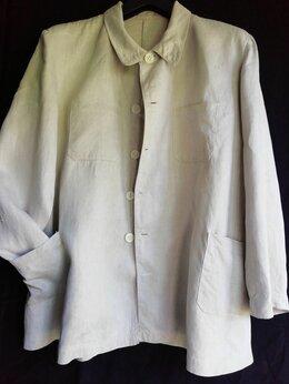 Пиджаки - Старинный мужской пиджак 30гг р.62-68, 0