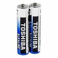 Батарейки - Элемент питания AAA Toshiba алкалиновая, 0