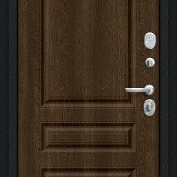 Входные двери - Дверь входная Пик 117.С14 NEW Букле черное/Dark Barnwood, 0