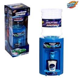 Кулеры для воды и питьевые фонтанчики - Кулер детский «Космические приключения», цвет голубой, 0