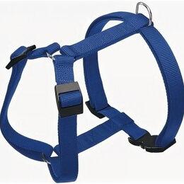 Аксессуары для амуниции и дрессировки  - FERPLAST Шлейка для собак   CHAMPION Small для собак  синий (шея 24-38 см, об..., 0