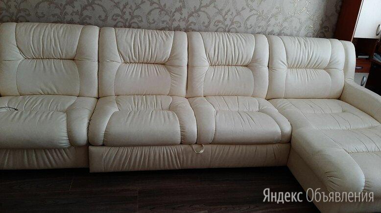 диван кожаный угловой по цене 55000₽ - Диваны и кушетки, фото 0