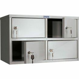 Шкафы для документов - Шкаф кассира ПРАКТИК AMB-30/4, 0