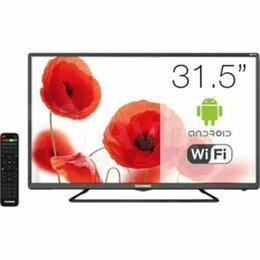Телевизоры - Телевизор-тонкий-практически новый, 0