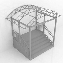 Лестницы и элементы лестниц - Крыльцо -навес, 0