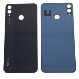 Дисплеи и тачскрины - Задняя крышка для Huawei Honor 8X черная, 0