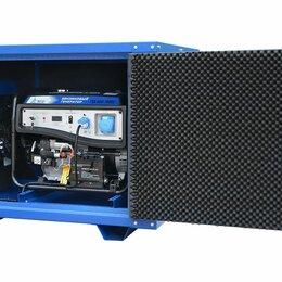 Электрогенераторы и станции - Бензогенератор TSS SGG 7500Е3 в кожухе МК-1, 0