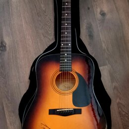 Акустические и классические гитары - Гитара Fender с автографом группы Scorpions, 0