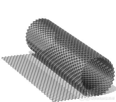 Сетка ЦПВС 50х25х1 мм (1250х10000 мм) по цене 584₽ - Металлопрокат, фото 0