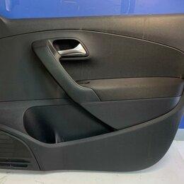 Кузовные запчасти  - Обшивка двери правая передняя Volkswagen Polo 10-20 (6RU867012FUPL), 0