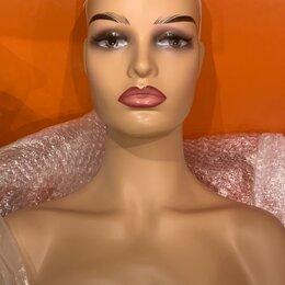 Манекены - Голова манекен бюст женский , 0