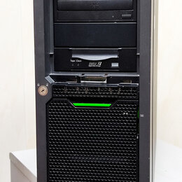 Серверы - Сервер Fujitsu PRIMERGY TX150 S7, Intel® Xeon® X3470, DDR3 12Гб, 0
