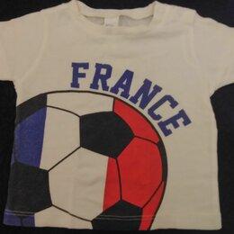 Футболки и майки - Футболка сборной Франции на мальчика 74 см, 0