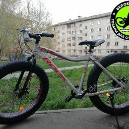 Велосипеды - Велосипед фэтбайк Rook FA260D, 0