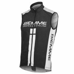 Велотренажеры - Веложилет Biemme Alpe dHuez, черно-белый 2020 (Размер: S), 0