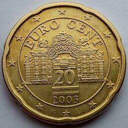 Монеты - 20 евроцентов 2003 год - Австрия, 0