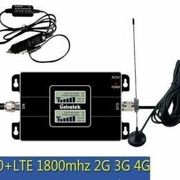 Антенны и усилители сигнала - Автомобильный Усилитель сигнала сотовой связи 900 MHZ + 1800 MHZ + 2,3,4 G, 0